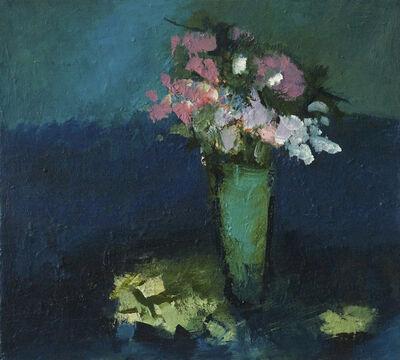 Jennifer Hornyak, 'Green Pot with Prussian Blue', 2016
