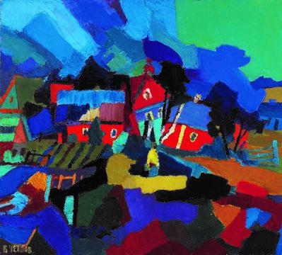 Boris Chetkov, 'Red Houses', 1993