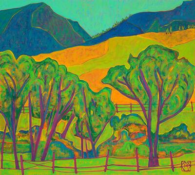 K.L. McKenna, 'Wind in Cottonwoods, WY', 2014