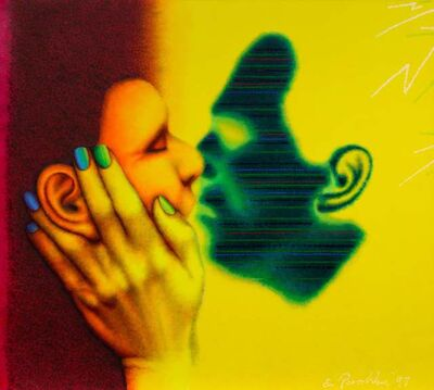 Ed Paschke, 'Face to Face', 1997