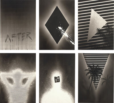 Evan Gruzis, 'Six works: (i) After; (ii) Diamond Variation; (iii) Evening Cutaway; (iv) Lazy Lightning; (v) Tropez L'Oiel; (vi) V-Tropic', 2009