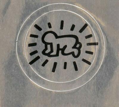 Keith Haring, 'Original Keith Haring Pop Shop sticker ', ca. 1986