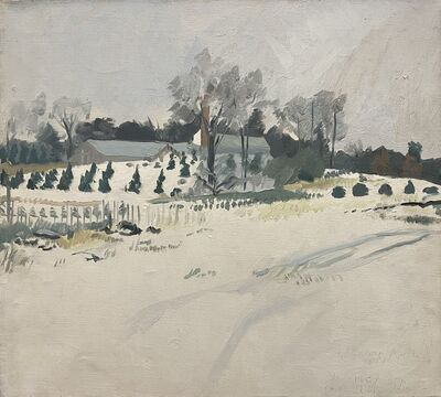 George Nick, 'Winter Farm, Sudbury, Mass, Jan', 1967