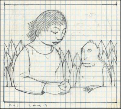 Andrew Stevovich, 'Drawing for Loretta Feeding a Monkey', 2017