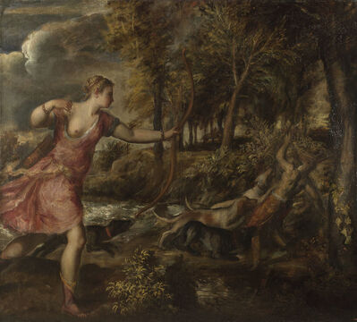 Titian, 'The Death of Actaeon', 1559-1575