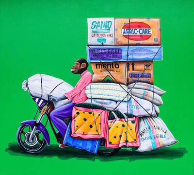 Abdias Ngateu, 'Le coursier 1', 2021