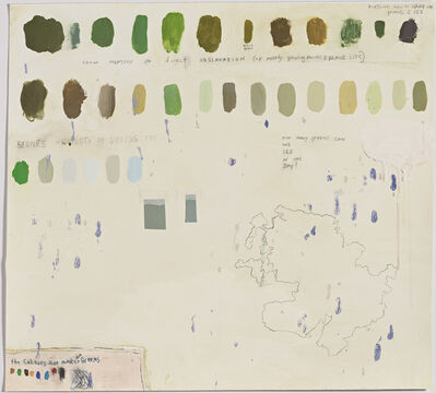 Squeak Carnwath, 'How Many Greens '