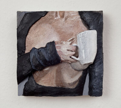 Gina Beavers, 'Black Coffee', 2019