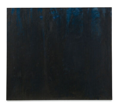 Wolf Kahn, 'Woods, Almost All Black', 1962