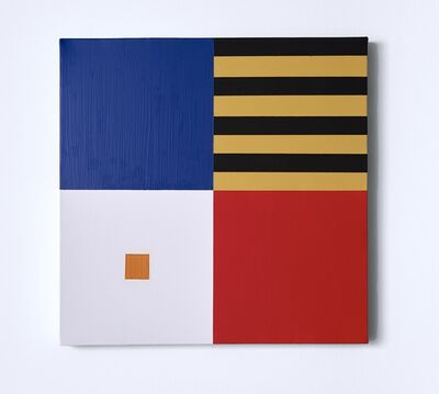 Kaveh Ossia, 'Self control and the orange square', 2019