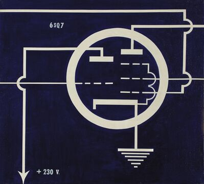 Allan D'Arcangelo, '6 SQ 7', 1963
