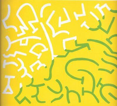 Carla Accardi, 'Verde giallo rosso', 2001