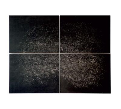 Muriel Moreau, 'Noir chemin', 2009