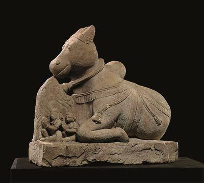 Indian, 'Figure of Nandi, Rajasthan or Uttar Paradesh', 12th century