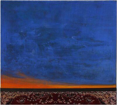 Aladdin Garunov, 'Sunset over the carpet ', 2019