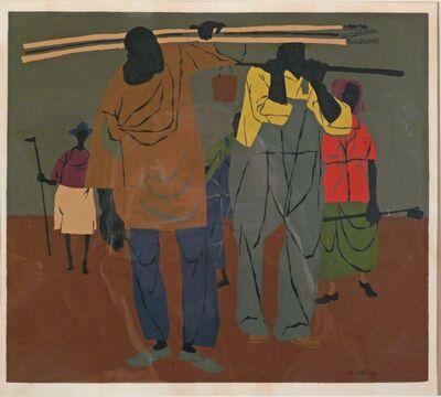 Robert Gwathmey, 'END OF THE DAY', 1944