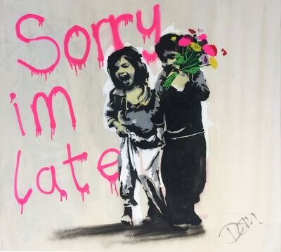 Dom Pattinson, 'Sorry I'm Late', 2017