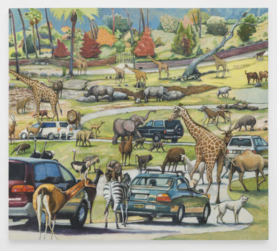 Rob Thom, 'Drive-Thru Zoo', 2019