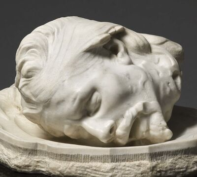 Auguste Rodin, 'Head of John the Baptist', Conceived in 1887