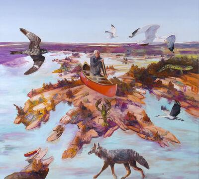 John Hartman, 'Early Spring Above Prisque Bay', 2020