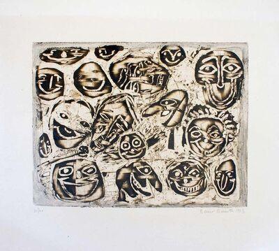 Renzo Bussotti, 'Masks ', 1963