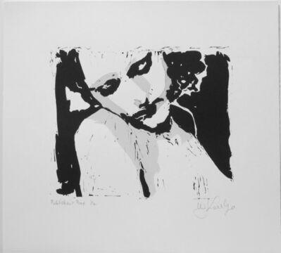 William Kentridge, 'LULU (PORTRAIT OF A LADY LOOKING DOWN)', 2016