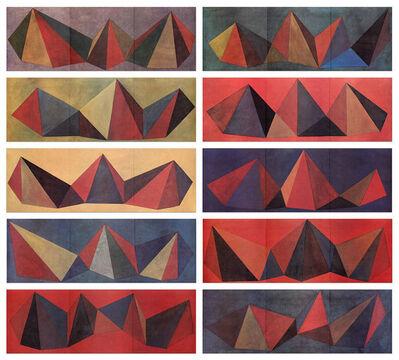 Sol LeWitt, 'Piramidi', 1986