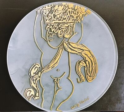 Andy Warhol, 'Gold Angel Charger Plate', ca. 1991