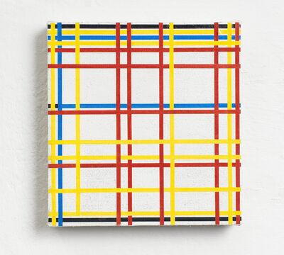 Gregor Hildebrandt, 'Ny City 1 (Mondrian)', 2019