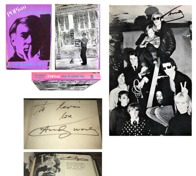 "Andy Warhol, '""POPISM-The Warhol '60s"", SIGNED 3-TIMES !!!!, 1980, First Edition, Hardcover, The Factory with Velvet Underground', 1980"