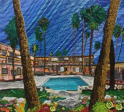 Caroline Larsen, 'Skylark Pool, Palm Springs CA', 2017