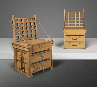 Eduardo Paolozzi, 'A 'Sculptor's Chair' and the unique 'Sculptor's Chair' prototype', 1987