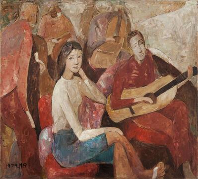 Huang Rui, 'The Guitar's Story', 1979