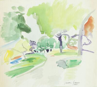 Jason Berger, '[Garden Path, Boston Public Garden]', 1960