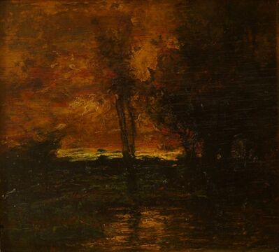 Charles Melville Dewey, 'Golden Moonlight', ca. 1900