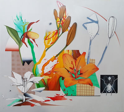 Fiona Ackerman, 'Wild Orange Lilies', 2019