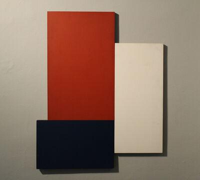 Gaudin Bolivar, 'Madi rouge-blanc-bleu', 1990