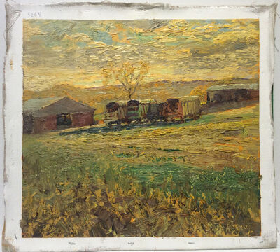 Harry Orlyk, '#5264 Wilber McIntyre's Wagons', 2015