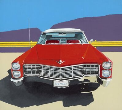 Horace Panter, 'Red Cadillac', 2015