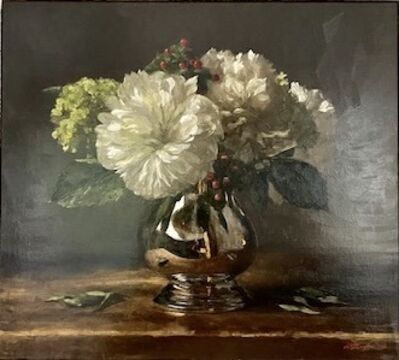 Sarah Lamb, 'Hydrangeas and Peonies', 2018