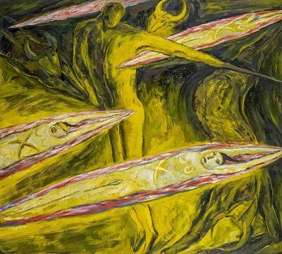 Leiko Ikemura, 'Torero, gelb', 1983