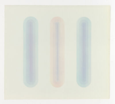 George Miyasaki, 'Ripple Series (Three Reflections)', 1971