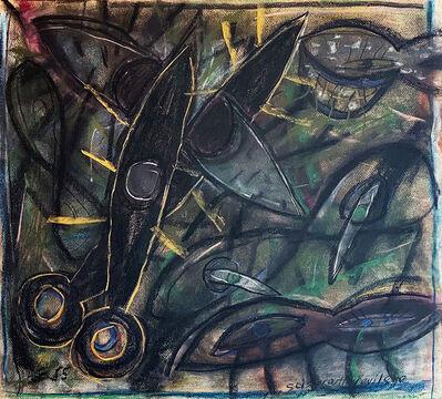 Carlos Alfonzo, 'Scissor Cutting Evil Eye', 1985
