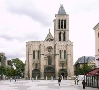 'Abbey Church of Saint-Denis', 1135-1144