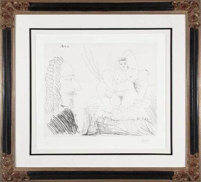 Pablo Picasso, 'Courtisane au lit avec un visiteur from the 347 Series', 1968