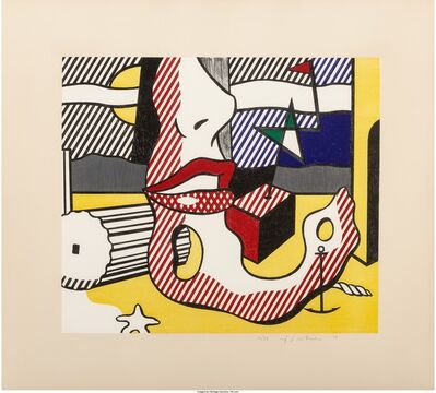 Roy Lichtenstein, 'A Bright Night, from the Surrealist Series', 1978