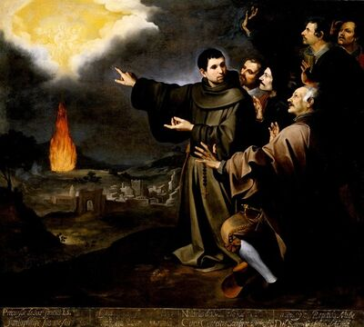 Bartolomé Esteban Murillo, 'Fray Julián of Alcalá's Vision of the Ascension of the Soul of King Philip II of Spain', 1645-1646