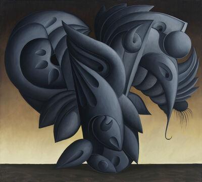 Valton Tyler, 'Gray Wing Stop', 1988