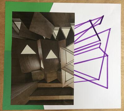 Xavier Veilhan, 'Collage n°14', 2018