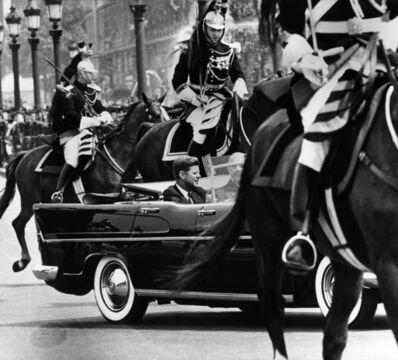 Harry Benson, 'President John F. Kennedy and President Charles de Gaulle, Paris', 1961